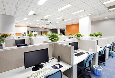Open space d'un bureau